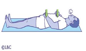 Schéma exercice respiration abdominale détente